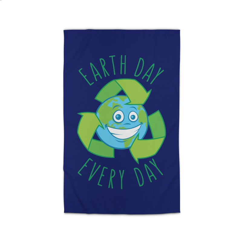 Earth Day Every Day Recycle Cartoon Home Rug by Fizzgig's Artist Shop