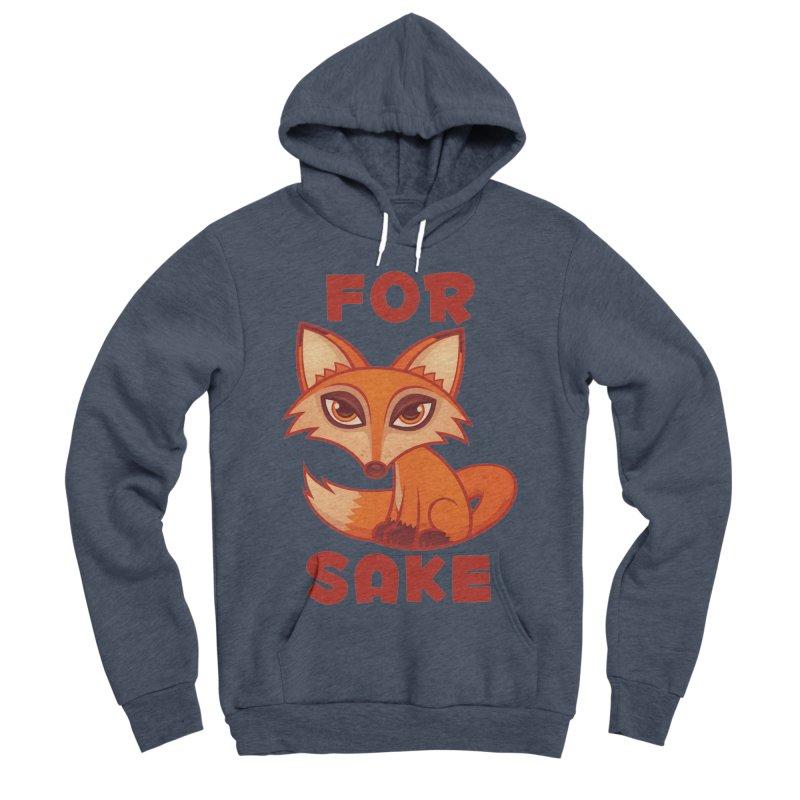 For Fox Sake Men's Sponge Fleece Pullover Hoody by Fizzgig's Artist Shop