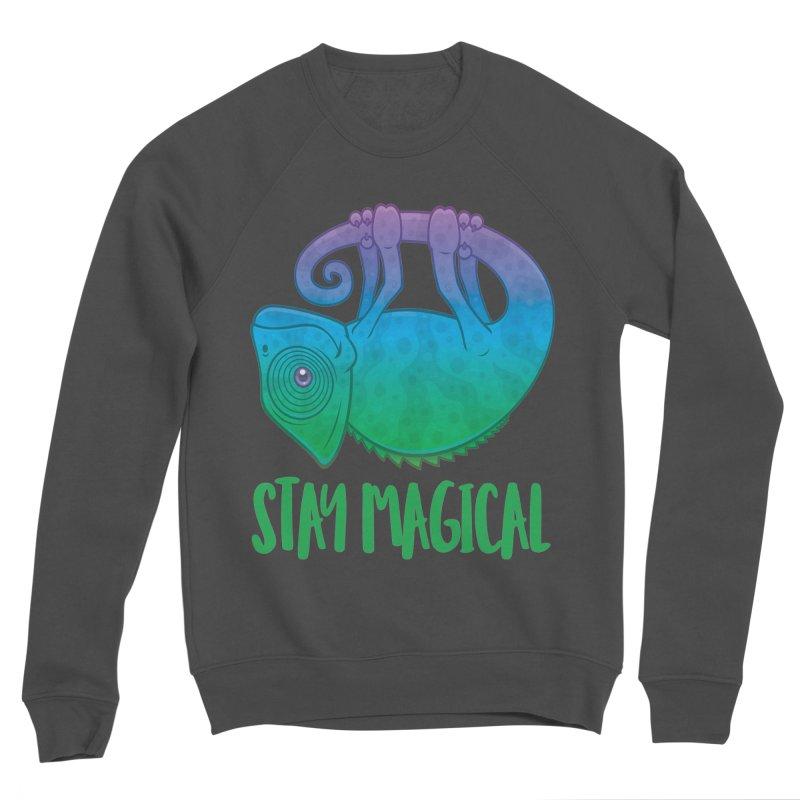 Stay Magical Levitating Chameleon Women's Sponge Fleece Sweatshirt by Fizzgig's Artist Shop