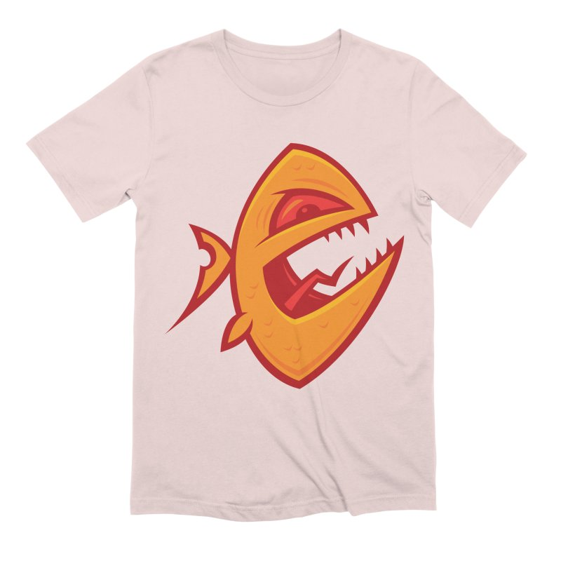 Piranha Men's Extra Soft T-Shirt by Fizzgig's Artist Shop