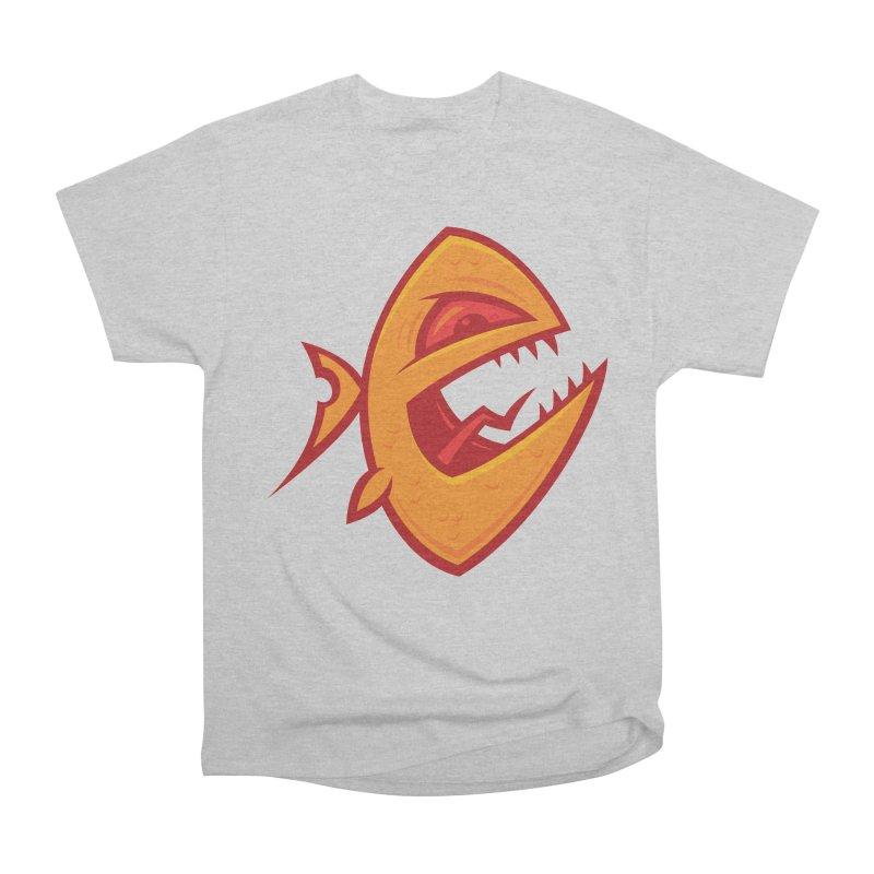 Piranha Women's Heavyweight Unisex T-Shirt by Fizzgig's Artist Shop