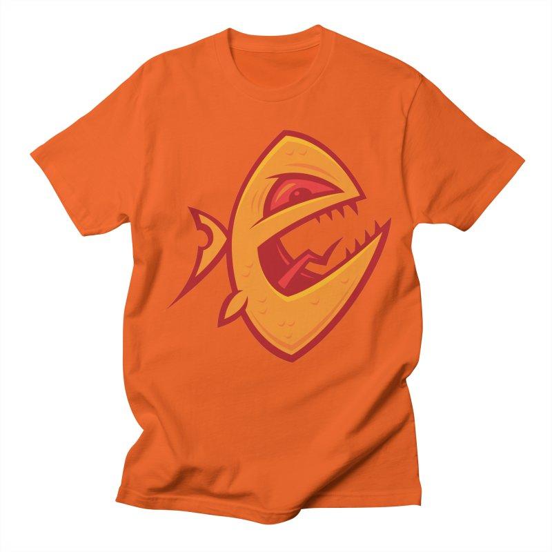 Piranha Women's Regular Unisex T-Shirt by Fizzgig's Artist Shop