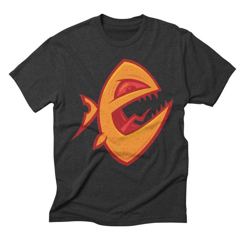 Piranha Men's Triblend T-Shirt by Fizzgig's Artist Shop