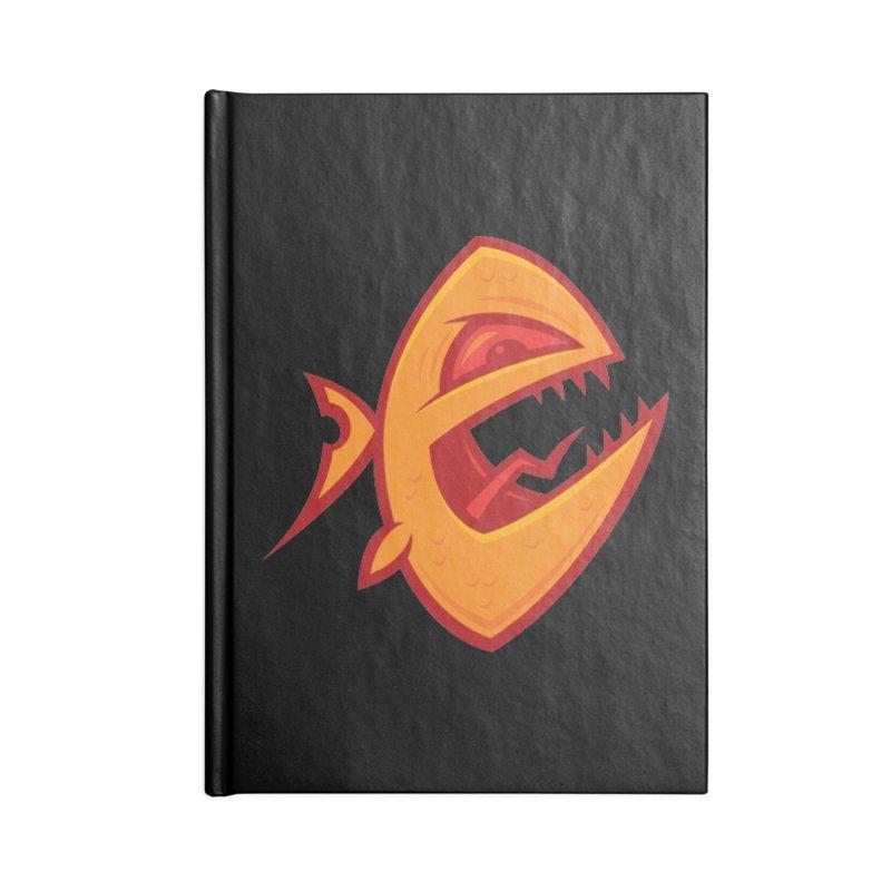 Piranha Accessories Notebook by Fizzgig's Artist Shop