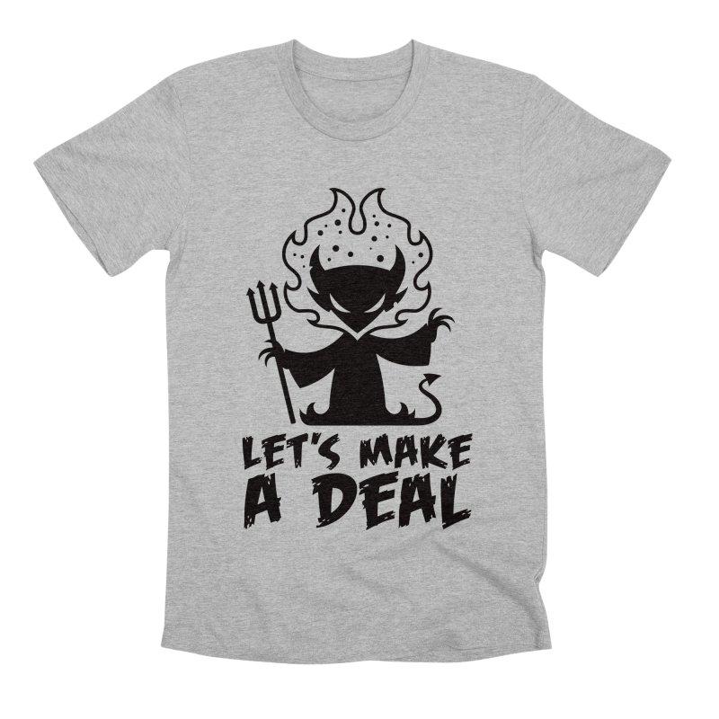 Deal With The Devil Men's Premium T-Shirt by Fizzgig's Artist Shop