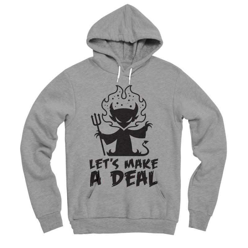 Deal With The Devil Women's Sponge Fleece Pullover Hoody by Fizzgig's Artist Shop