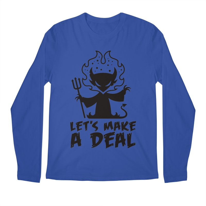 Deal With The Devil Men's Regular Longsleeve T-Shirt by Fizzgig's Artist Shop