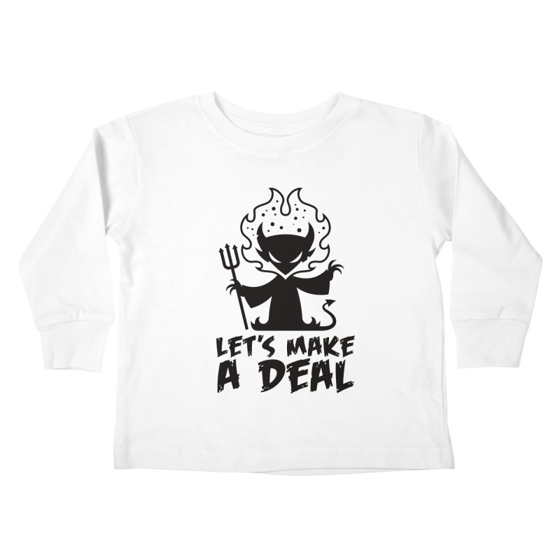 Deal With The Devil Kids Toddler Longsleeve T-Shirt by Fizzgig's Artist Shop