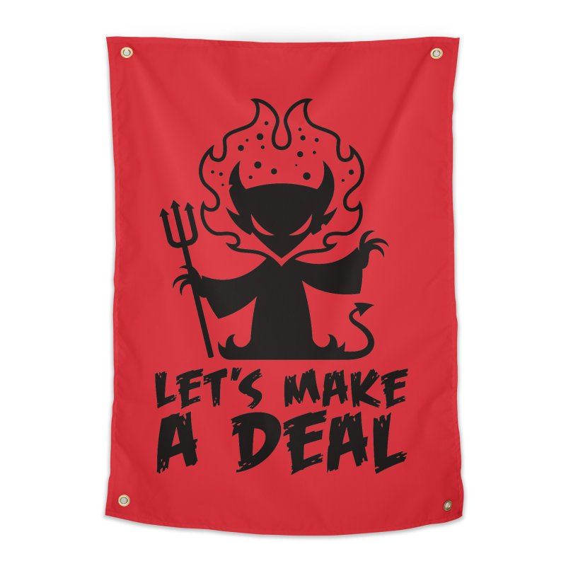 Deal With The Devil Home Tapestry by Fizzgig's Artist Shop