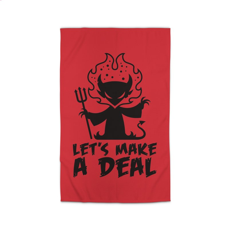 Deal With The Devil Home Rug by Fizzgig's Artist Shop