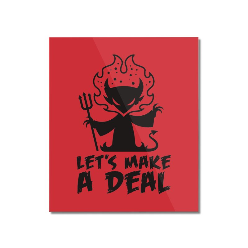 Deal With The Devil Home Mounted Acrylic Print by Fizzgig's Artist Shop