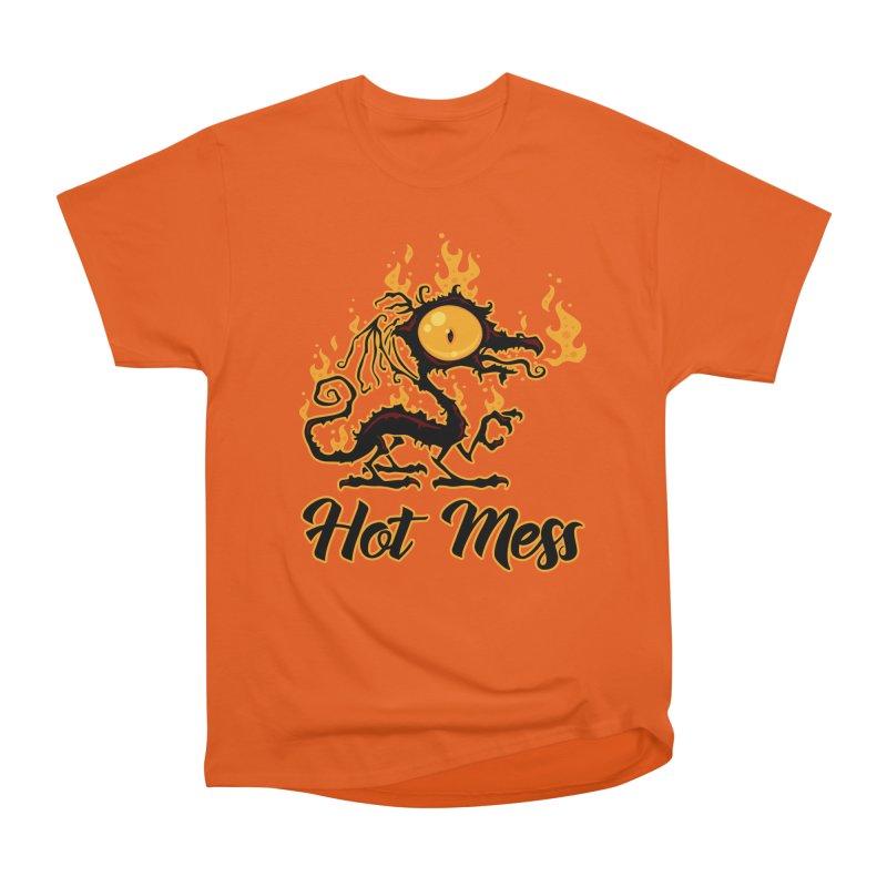 Hot Mess Crispy Dragon Women's T-Shirt by Fizzgig's Artist Shop