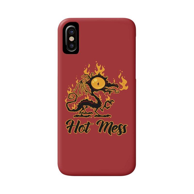 Hot Mess Crispy Dragon Accessories Phone Case by Fizzgig's Artist Shop