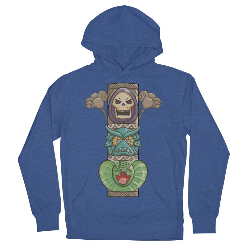 Villains of the Totem Women's French Terry Pullover Hoody by Flaming Imp's Artist Shop