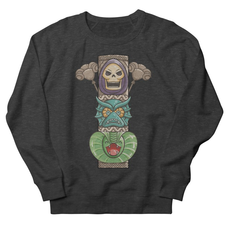 Villains of the Totem Women's French Terry Sweatshirt by Flaming Imp's Artist Shop