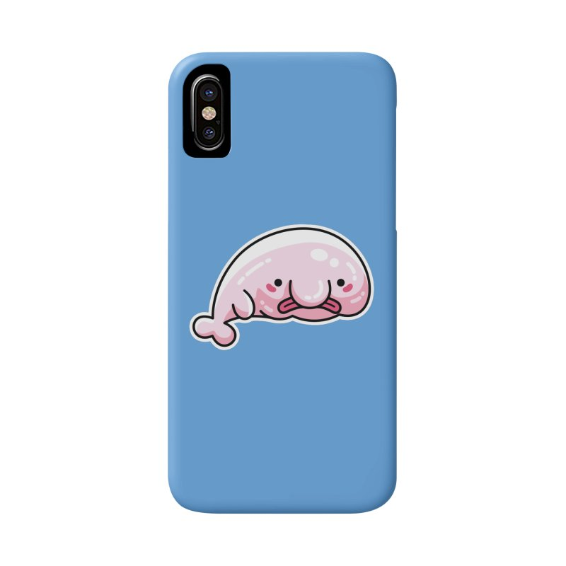 Kawaii Cute Blobfish Accessories Phone Case by Flaming Imp's Artist Shop