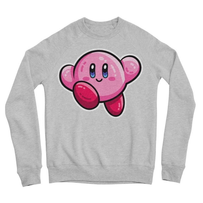 Kawaii Cute Kirby Men's Sponge Fleece Sweatshirt by Flaming Imp's Artist Shop