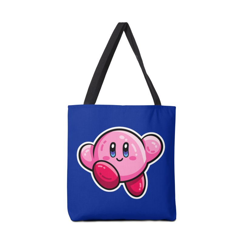 Kawaii Cute Kirby Accessories Tote Bag Bag by Flaming Imp's Artist Shop