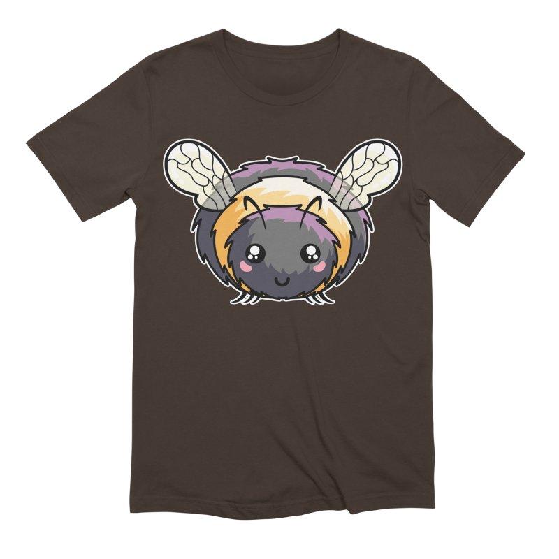 Kawaii Cute Bee Men's Extra Soft T-Shirt by Flaming Imp's Artist Shop