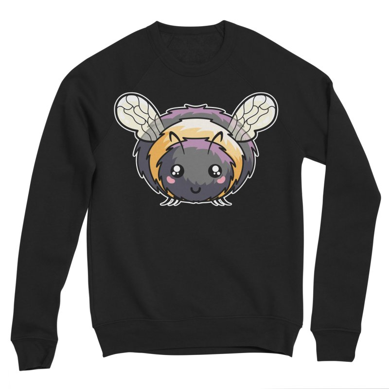 Kawaii Cute Bee Men's Sponge Fleece Sweatshirt by Flaming Imp's Artist Shop