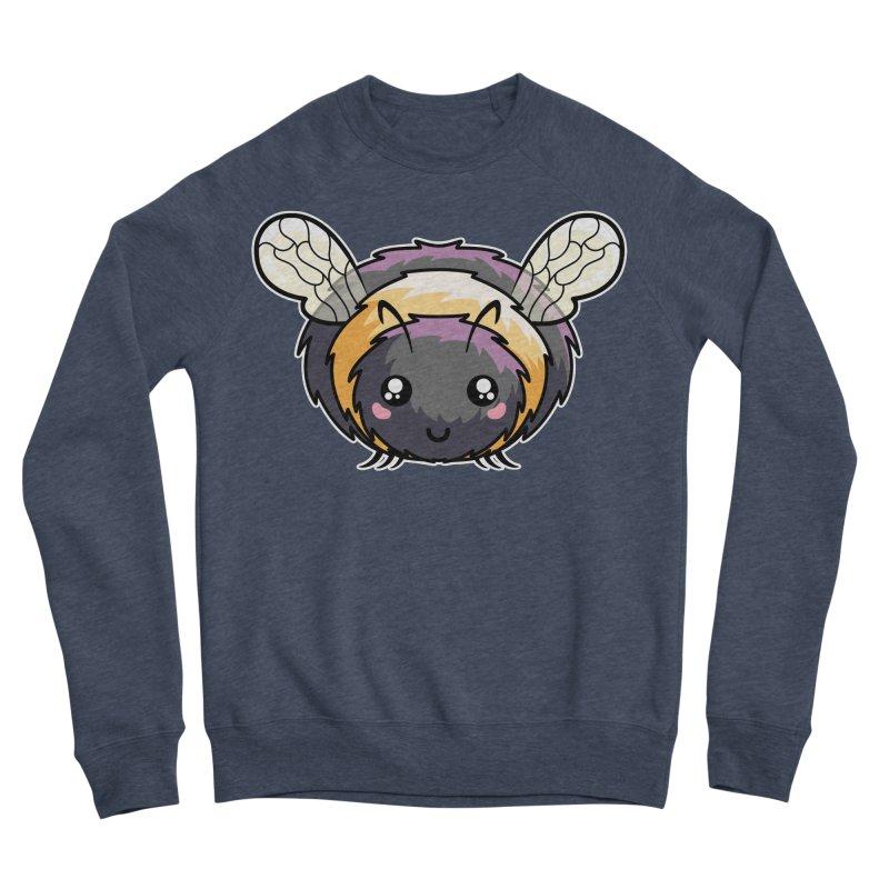 Kawaii Cute Bee Women's Sponge Fleece Sweatshirt by Flaming Imp's Artist Shop