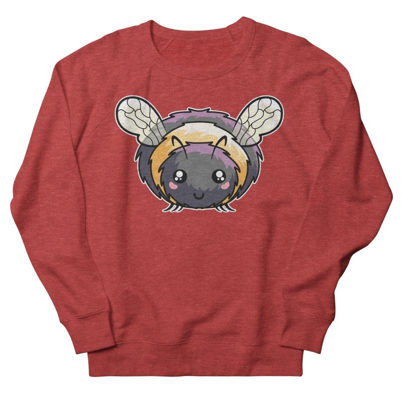 Kawaii Cute Bee Men's French Terry Sweatshirt by Flaming Imp's Artist Shop