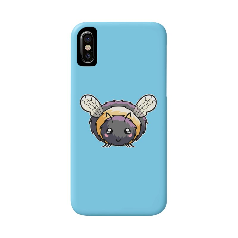 Kawaii Cute Bee Accessories Phone Case by Flaming Imp's Artist Shop