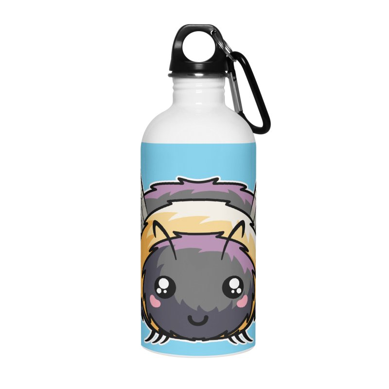 Kawaii Cute Bee Accessories Water Bottle by Flaming Imp's Artist Shop