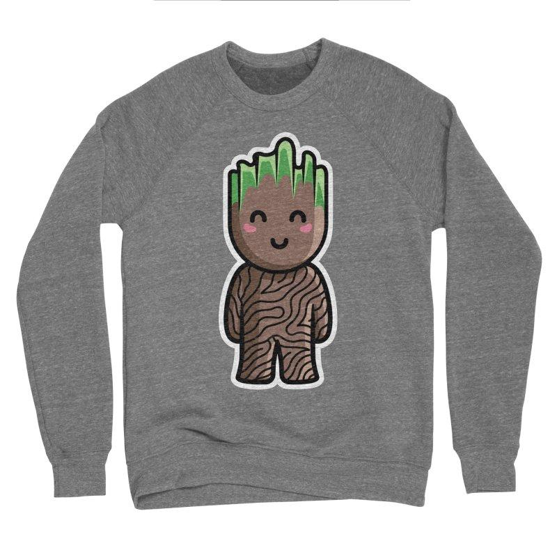 Kawaii Cute Baby Groot Men's Sponge Fleece Sweatshirt by Flaming Imp's Artist Shop