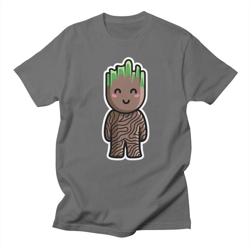 Kawaii Cute Baby Groot Men's T-Shirt by Flaming Imp's Artist Shop