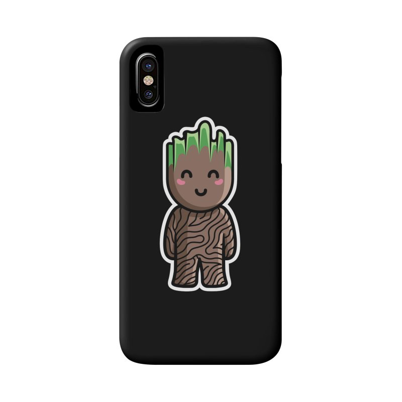 Kawaii Cute Baby Groot Accessories Phone Case by Flaming Imp's Artist Shop