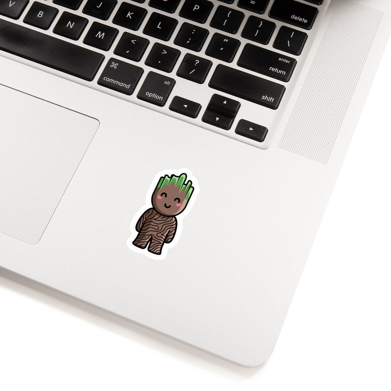 Kawaii Cute Baby Groot Accessories Sticker by Flaming Imp's Artist Shop