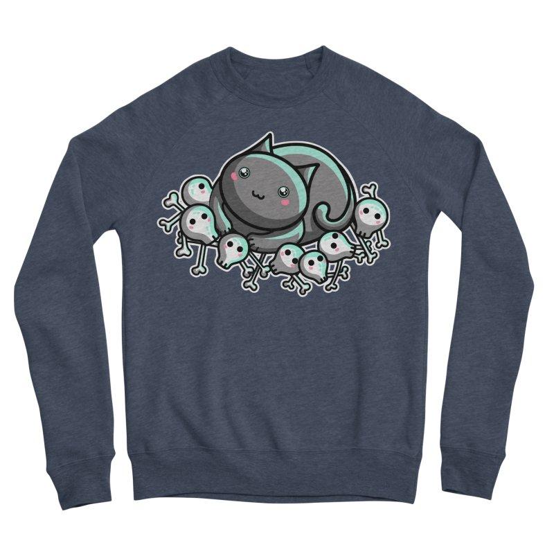 Innocent Cat Women's Sponge Fleece Sweatshirt by Flaming Imp's Artist Shop