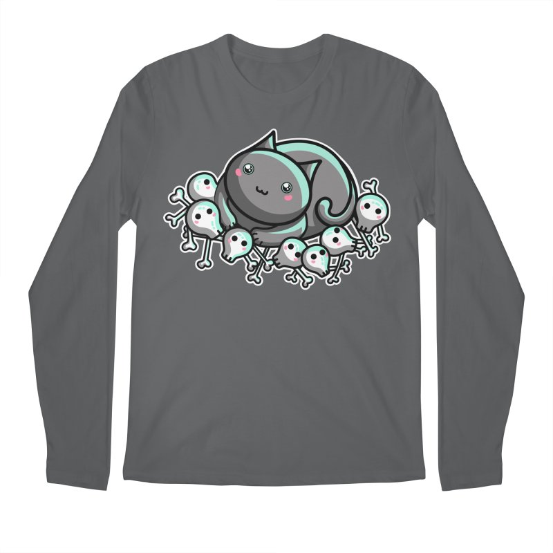 Innocent Cat Men's Regular Longsleeve T-Shirt by Flaming Imp's Artist Shop
