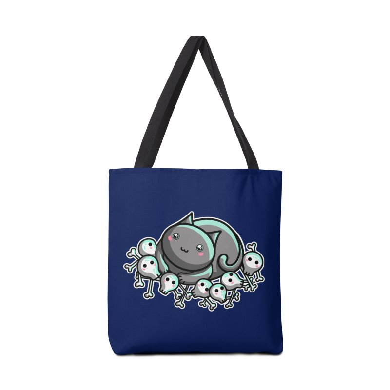 Innocent Cat Accessories Tote Bag Bag by Flaming Imp's Artist Shop