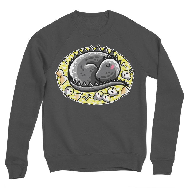 Cute Dragon Asleep on its Hoard Men's Sponge Fleece Sweatshirt by Flaming Imp's Artist Shop