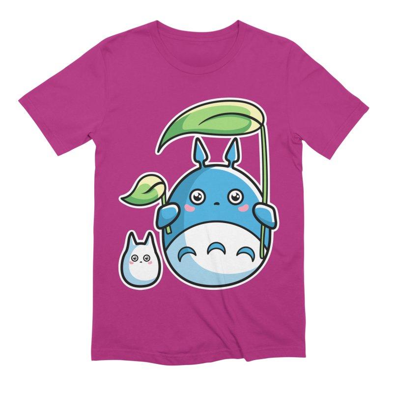 Kawaii Cute Zuku and Mini Men's Extra Soft T-Shirt by Flaming Imp's Artist Shop