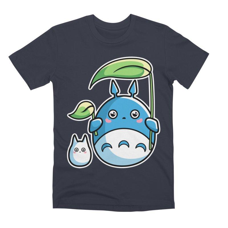 Kawaii Cute Zuku and Mini Men's Premium T-Shirt by Flaming Imp's Artist Shop