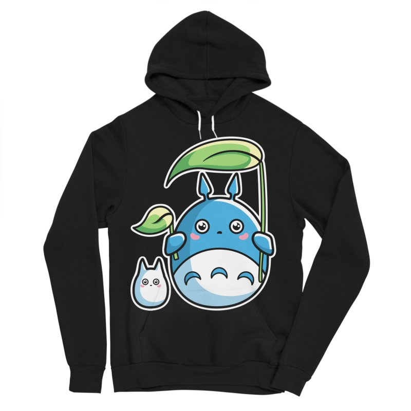Kawaii Cute Zuku and Mini Women's Sponge Fleece Pullover Hoody by Flaming Imp's Artist Shop
