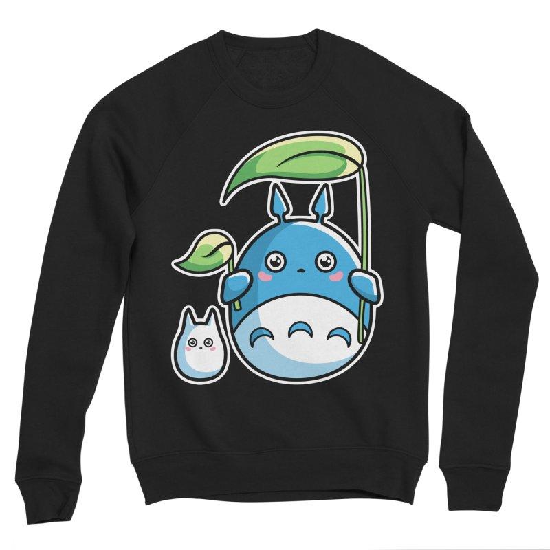 Kawaii Cute Zuku and Mini Men's Sponge Fleece Sweatshirt by Flaming Imp's Artist Shop