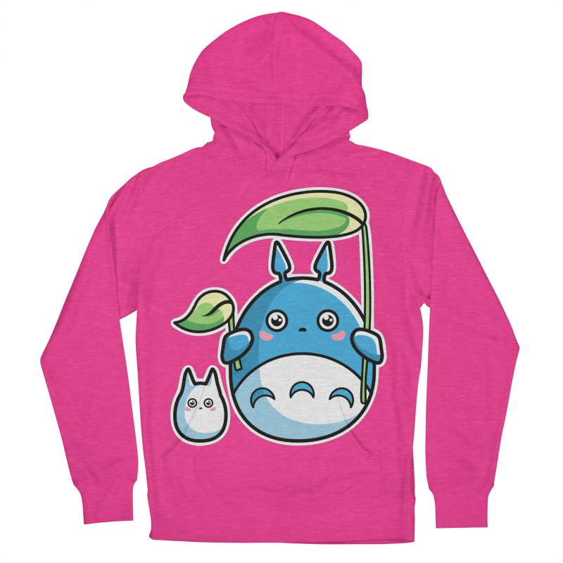 Kawaii Cute Zuku and Mini Women's French Terry Pullover Hoody by Flaming Imp's Artist Shop