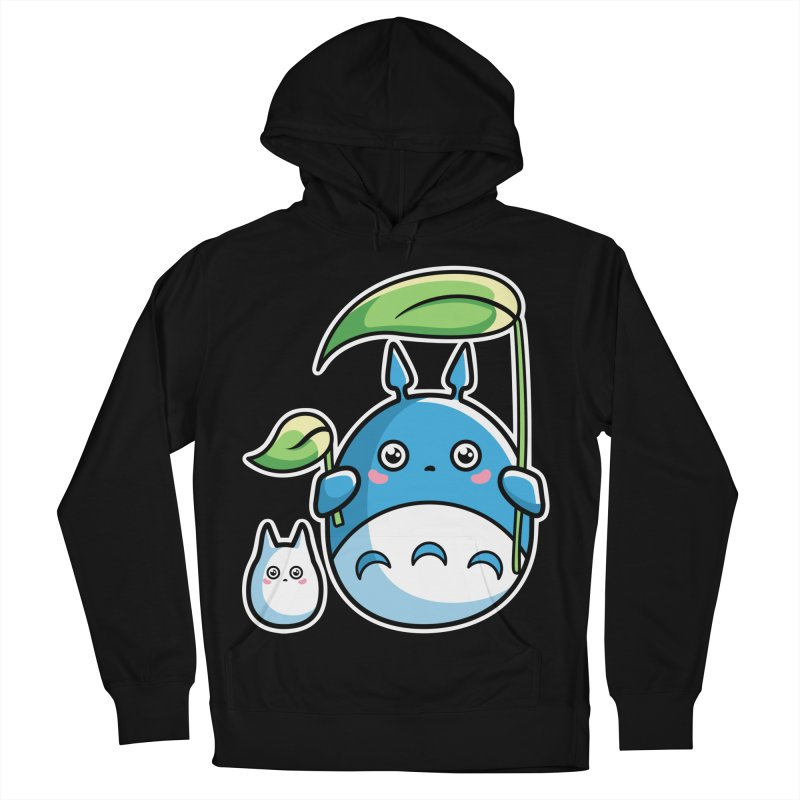 Kawaii Cute Zuku and Mini Men's French Terry Pullover Hoody by Flaming Imp's Artist Shop