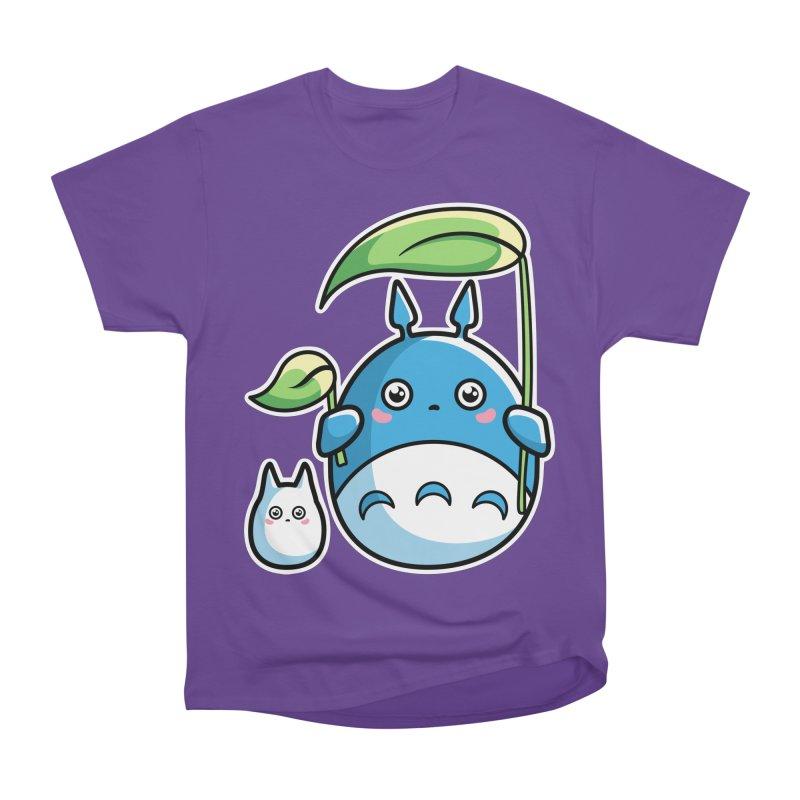 Kawaii Cute Zuku and Mini Men's Heavyweight T-Shirt by Flaming Imp's Artist Shop
