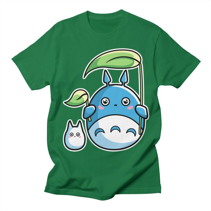 Kawaii Cute Zuku and Mini Men's Regular T-Shirt by Flaming Imp's Artist Shop
