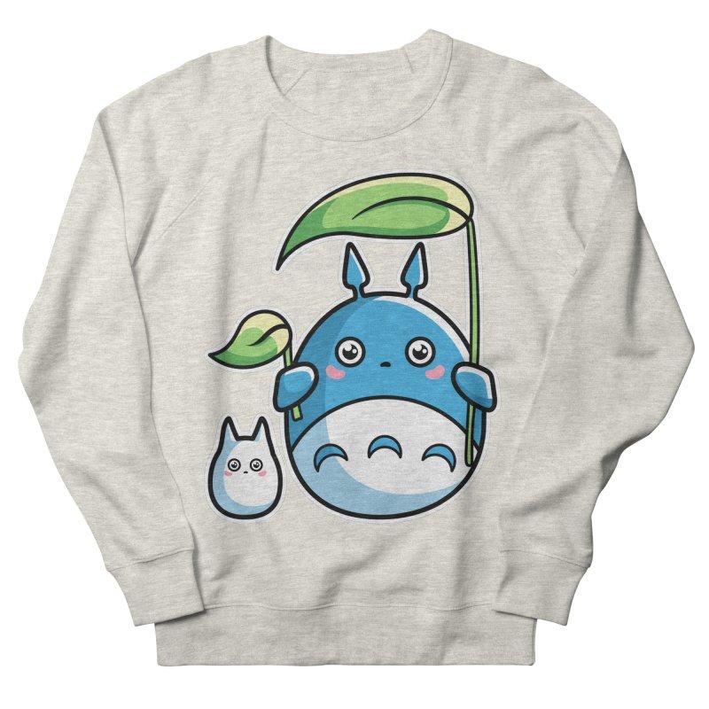 Kawaii Cute Zuku and Mini Women's French Terry Sweatshirt by Flaming Imp's Artist Shop