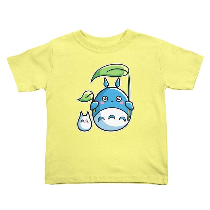 Kawaii Cute Zuku and Mini Kids Toddler T-Shirt by Flaming Imp's Artist Shop