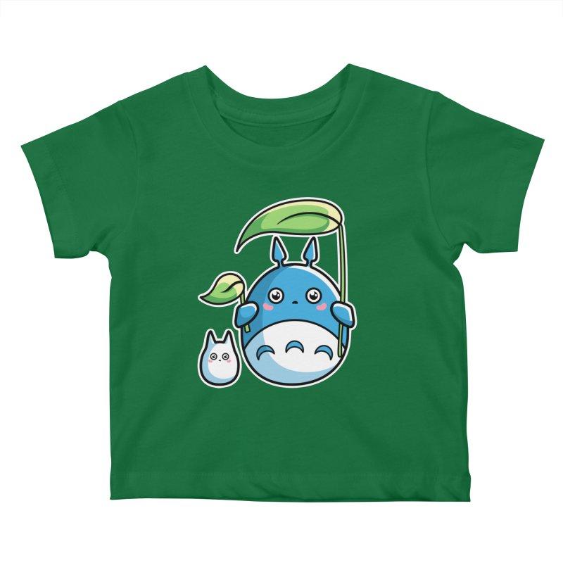 Kawaii Cute Zuku and Mini Kids Baby T-Shirt by Flaming Imp's Artist Shop