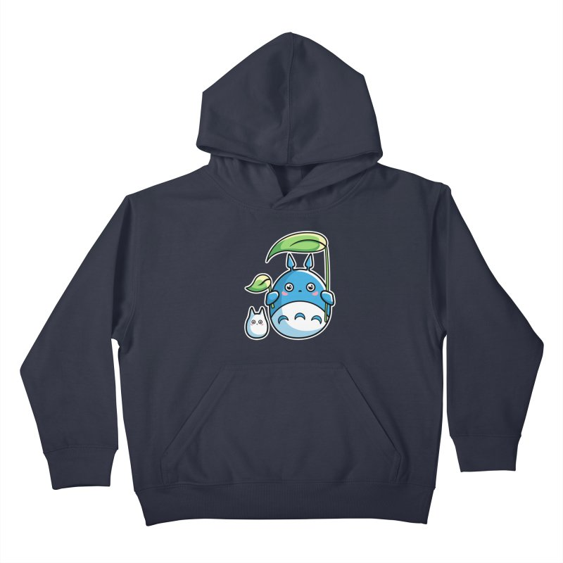 Kawaii Cute Zuku and Mini Kids Pullover Hoody by Flaming Imp's Artist Shop