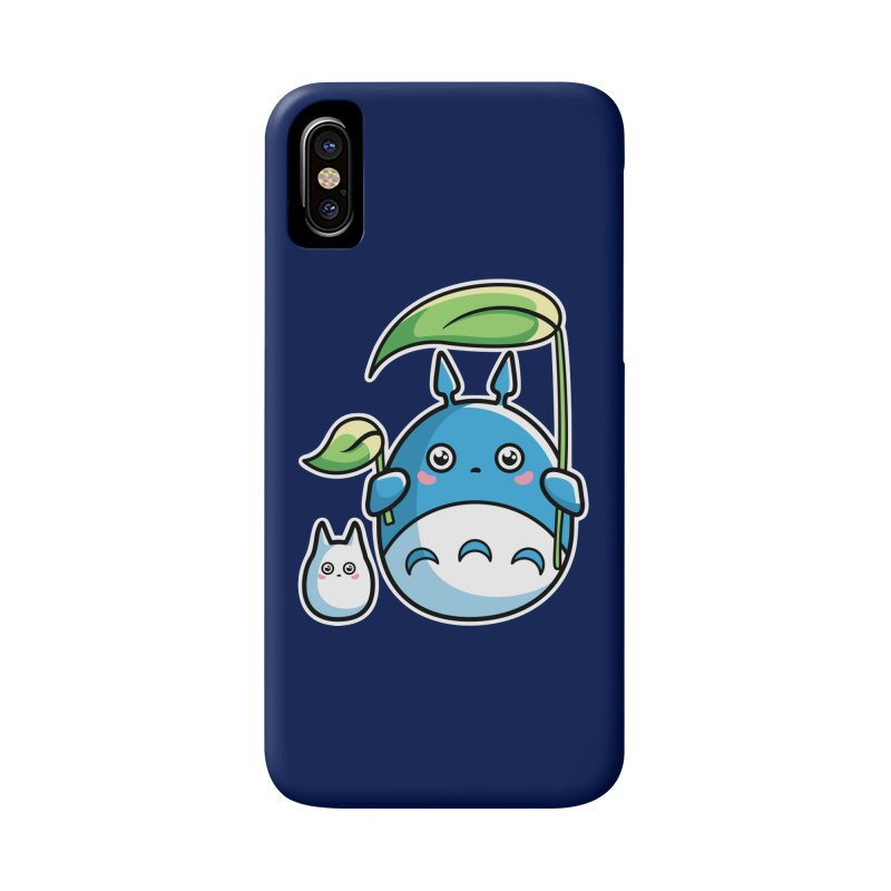 Kawaii Cute Zuku and Mini Accessories Phone Case by Flaming Imp's Artist Shop