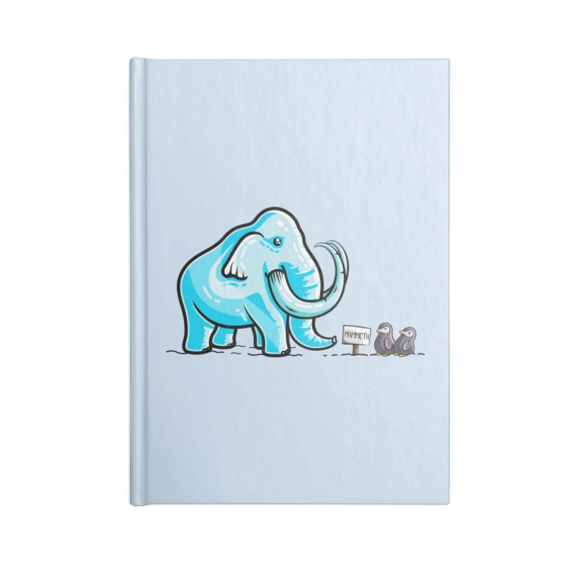 Mammoth Ice Sculpture Accessories Blank Journal Notebook by Flaming Imp's Artist Shop